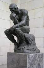 Мыслитель (статуя Огюста Родена)  Тип: Штирлиц, ЛСЭ Подтип: СЛ