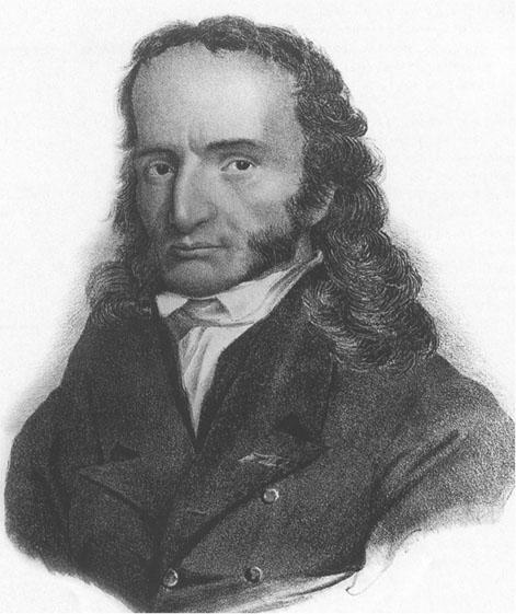 Тип: Гамлет, ЭИЭ Подтип: ИЭ           Мужчина  Никколо Паганини (Niccolo Paganini)